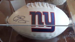 Odell beckham signed giants football