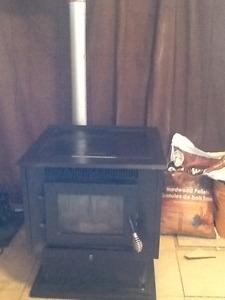 Pel Pro pellet stove
