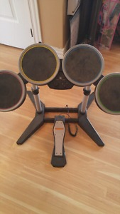 Playstation drum set cheap!