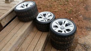 Power wheels Escalade tires and rims