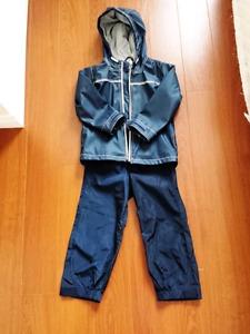 Rain jacket and splash pants