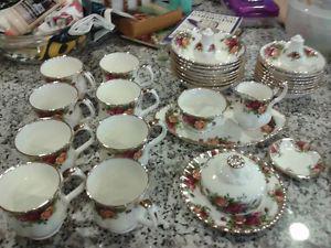 Royal Albert OLD COUNTRY ROSES LARGE TEA POT LID