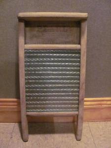 Vintage scrub board 12 x 24 inches $22