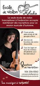École de violon francophone à Fredericton / French violin
