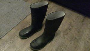 rubber boots size 2