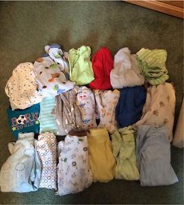 0-3 month clothes lot $50