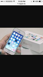 APPLE iPHONE 5s, 16gb, Rogers, , new, box, warranty