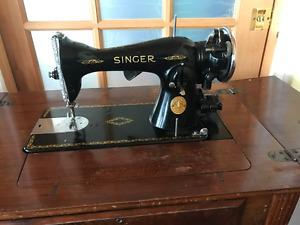 Antique Singer Electric Sewing Machine