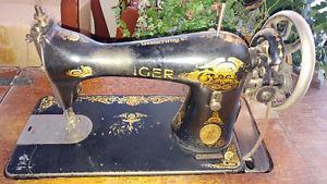 Antique Singer treadle sewing machine