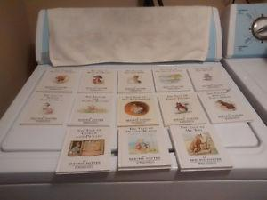 Beatrix Potter Hard Cover Books - Years