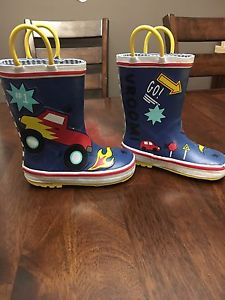 Boys Rubber Boots size 9