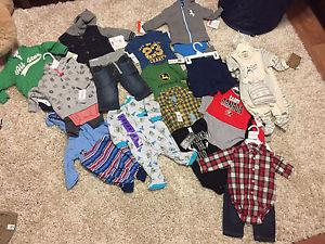 Brand new baby clothes 3-6 months