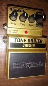 Digitech Tone Driver electric guitar pedal.Early version