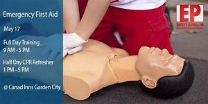 Emergency First Aid and CPR/AED Training May 17