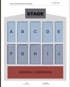 Four tickets to Any Show at the venue at River Cree