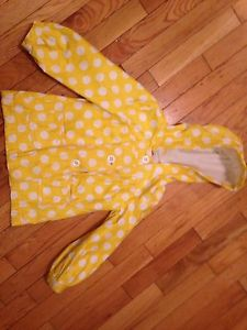 Girls Size 5T Rain Jacket