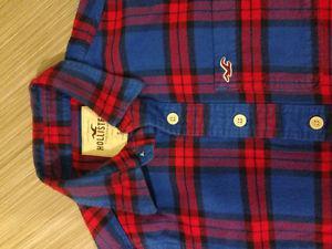 Hollister Plaid shirt - super soft