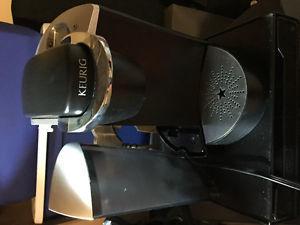 Keurig Coffee Maker with Storage cup holder