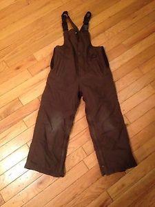 Kids Brown Snow pants Size 5