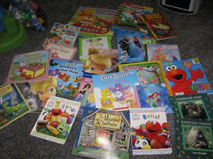 Lot of 25 children's books for $10