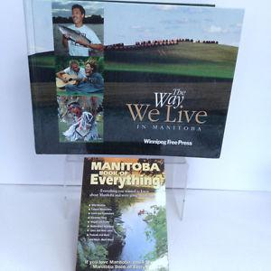 Manitoba Book of Everything & The Way We Live in MB