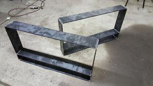 Metal Table Legs and Bases Built To Order