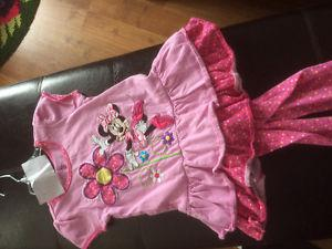 Minnie Mouse summer outfit size 4