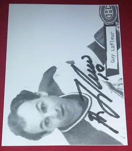 Montreal Canadiens Guy Lafleur