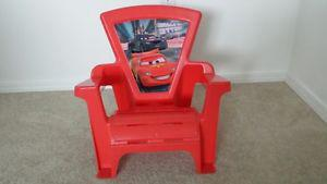 Multi - use lightning McQueen chair