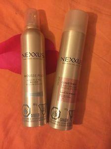 Nexxus Moose & Hair Spray...