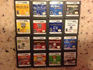 Nintendo DS Games $5 Each