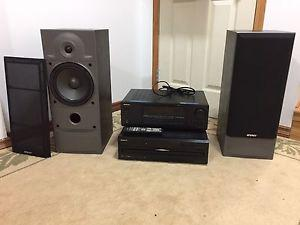 ONKYO and ENERGY Stereo System