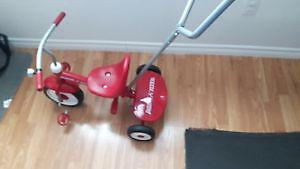 Radio Flyer Tricycle Like New used