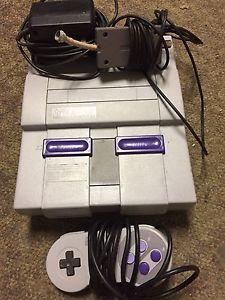 Super Nintendo system w/ accessories