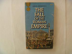THE FALL Of The Roman Empire by Harry Whittington -  PB