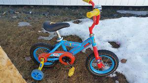 Thomas bike with training wheels