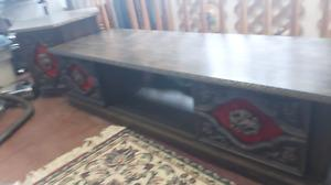 Vintage coffee table and end tables