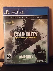 Wanted: COD legacy edition for PS4