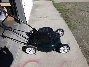 Yard Works Electric Lawn Mower, LIKE NEW!