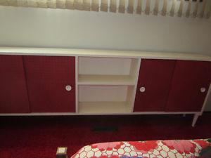 dresser with mirror,chest,long storage cabinet 2 night