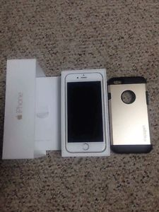 iPhone 6 Gold Factory unlocked works good