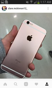 rose gold iphone 6s 32GB  condition