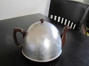 's Tea Pot Aluminum Cover Felt Hair Warmer Ceramic Pot &