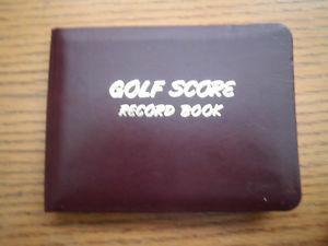 various golfing items
