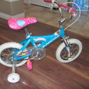 """12"""" Supercycle Lil Dreamer Girls Bike - Like New"""