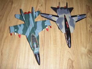 2 Toy Army fighter planes for sale