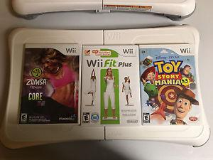 2 wii fit boards