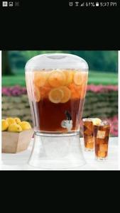 3 Gallon Beverage Dispenser with Cooling Cylinder