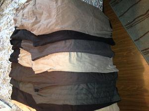 $40 for 8 pairs of L-XL-XXL Maternity Pants