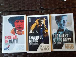 50th Anniversary Dr. Who books